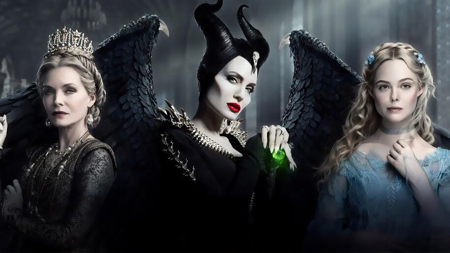 Maleficent 2 Angelina Jolie Elle Fanning Michelle Pfeiffer
