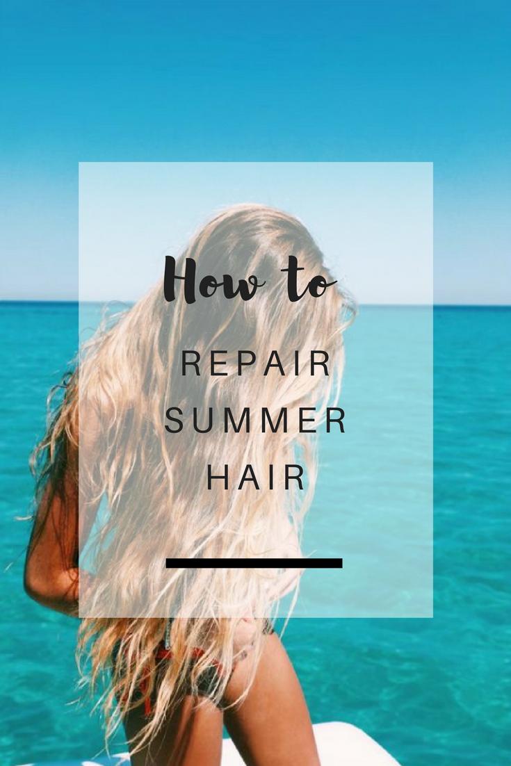 How to repair summer hair - Ioanna's Notebook