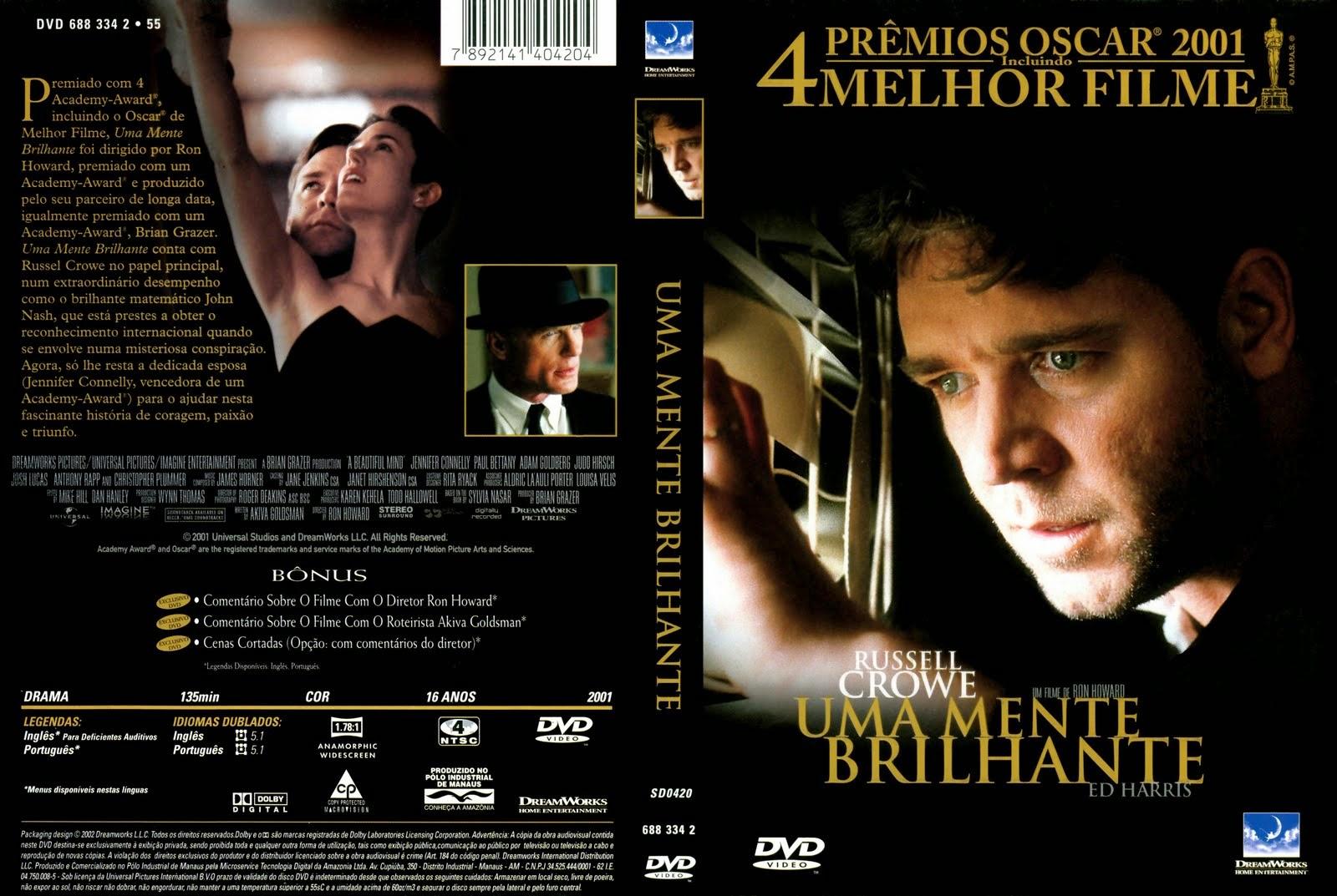 filme dublado completo uma mente brilhante