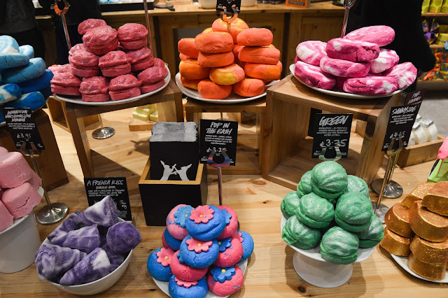 Lush Chester VIP Blogger Event New Bubble Bars