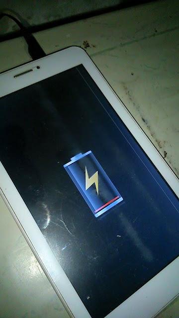 cara memperbaiki tablet advan yang mati total / tablet mati tidak bisa di charge