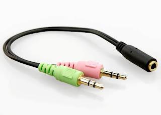 Sedang Mencari Kabel Splitter Jack Audio Combo Ke Dual Colokan? Coba Converter TRS to TRRS Ini!