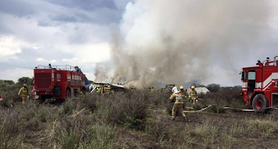 Plane With 101 On Board Crashes In Mexico, Everyone Survives