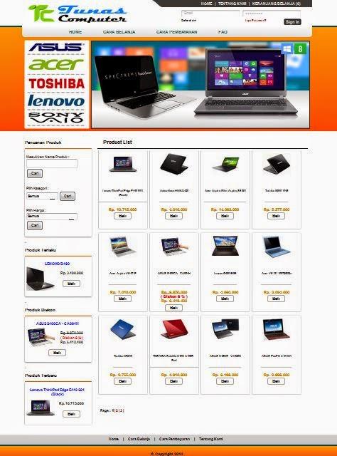 Script Aplikasi Toko Online Php Mysql E Commerce Rezfy Share