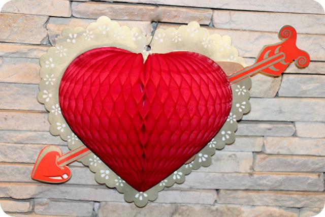 Decoração de Festa Caipira - Junina : Coração