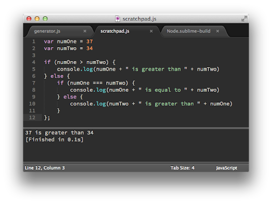 Easily Create a Javascript Console in Sublime Text