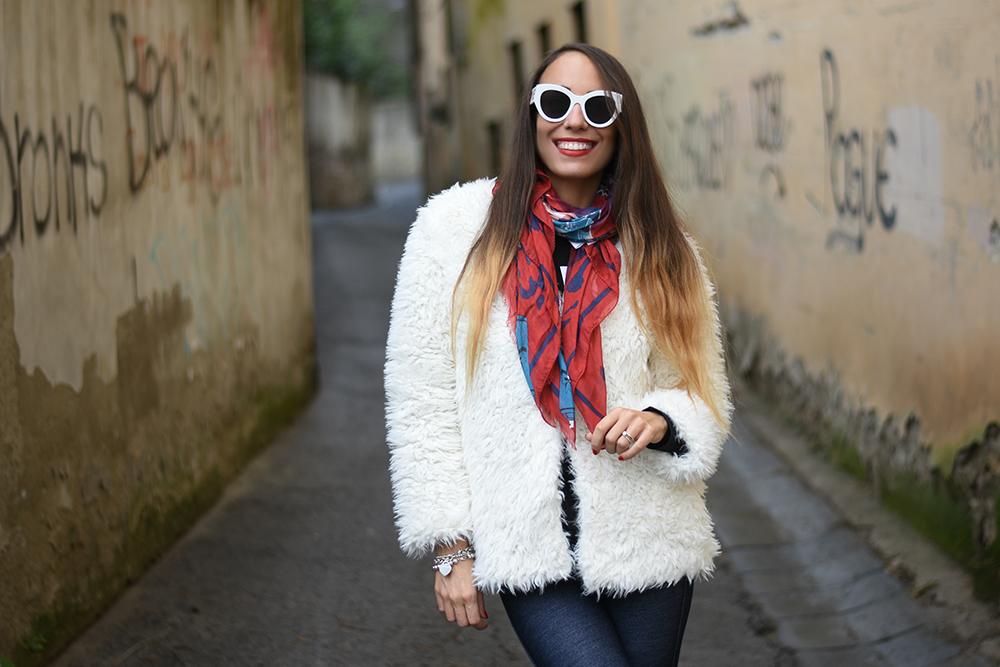 arte di strada foulard
