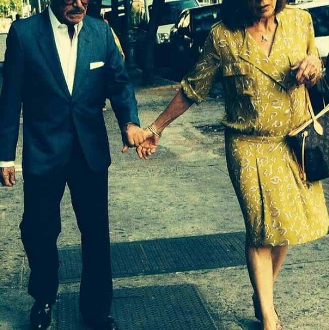 20 Exhilarating Images That Show Love Has No Age Limits - Walk hand in hand