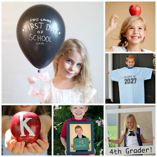 20 PHOTO IDEAS FOR BACK TO SCHOOL- these are so cute!  Love these ideas.