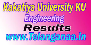 TS Kakatiya University KU Engineering Results Download