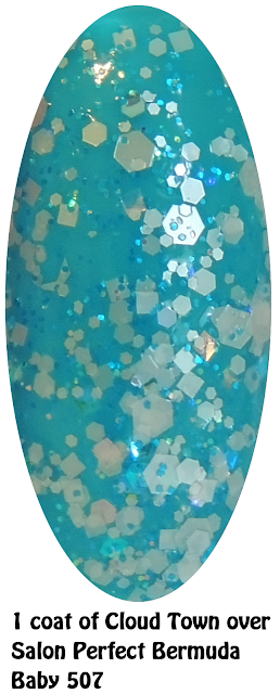 Cloud Town Over Salon Perfect Bermuda Baby 507- Nails
