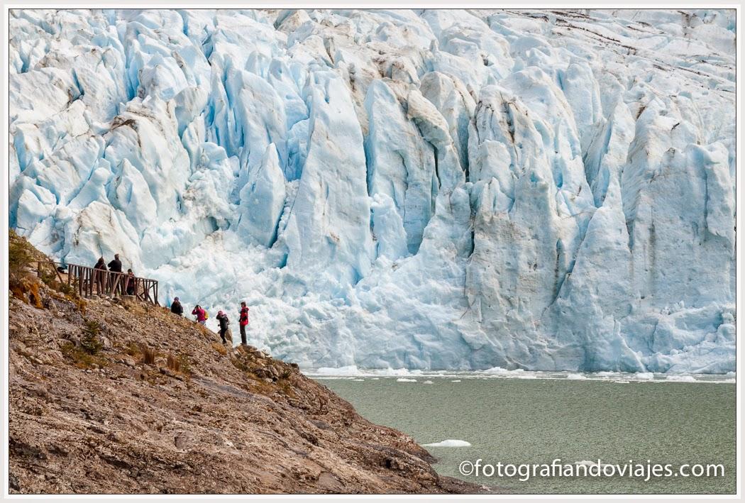 Glaciar Serrano en Chile