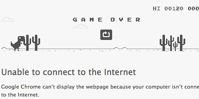 skor tertinggi game t-rex google chrome