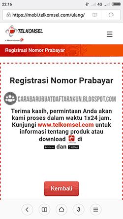 Ada Waktu! Cara Registrasi Ulang Kartu Simpati Online Via Internet