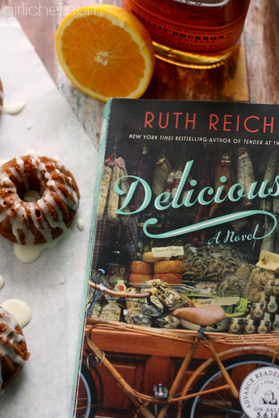 Delicious! by Ruth Reichl - book tour stop