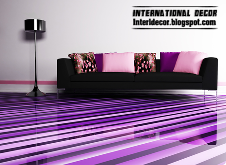 3d floor, 3d floor murals, 3d flooring, 3d epoxy floor, purple floors