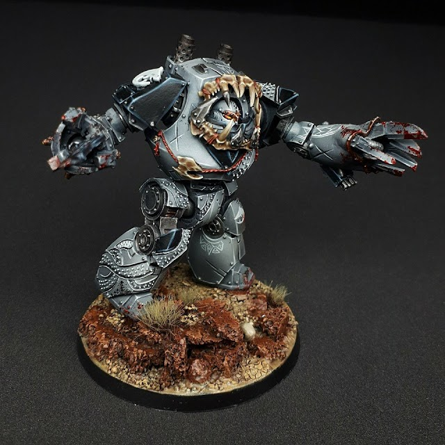 What's On Your Table: Carcharodons Contemptor Dreadnought!
