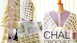 Patrones de Chal Tejido a Crochet