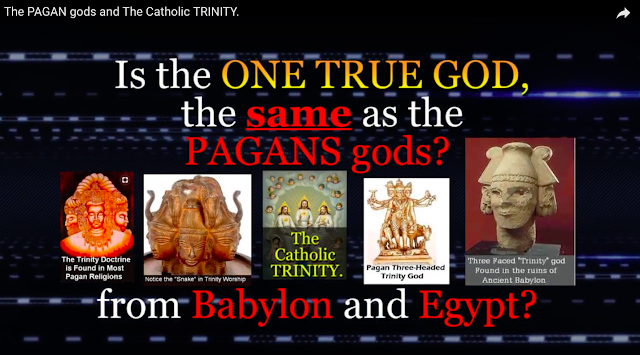 Is the ONE TRUE GOD, the same as the PAGANS gods from Babylon and Egypt?