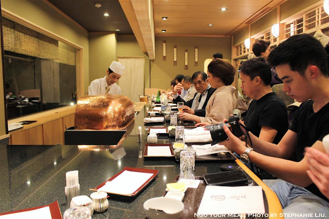 Main Dining Area at Tempura Endo Yasaka