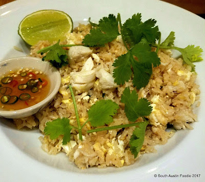Krua Urban Thai crab fried rice
