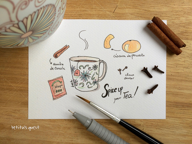 Spice up your tea by betitu