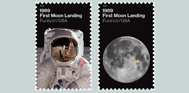 Credit: United States Postal Service/NASA