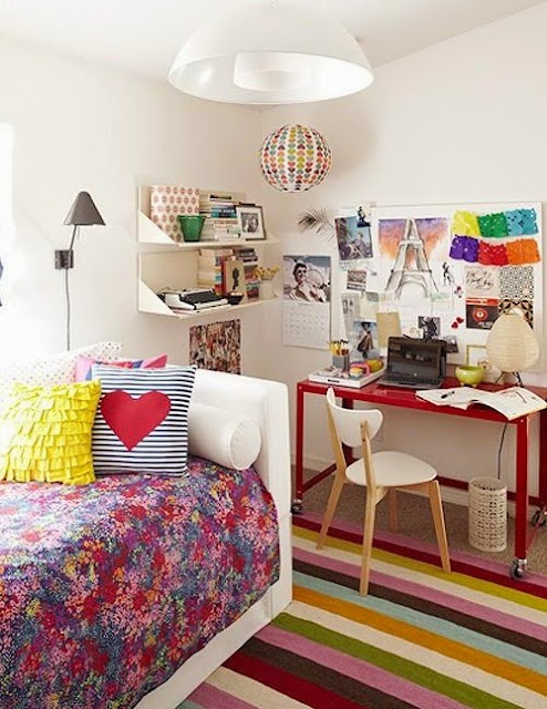 Colorful Teen Bedroom Ideas