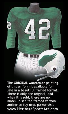 Philadelphia Eagles 1972 uniform