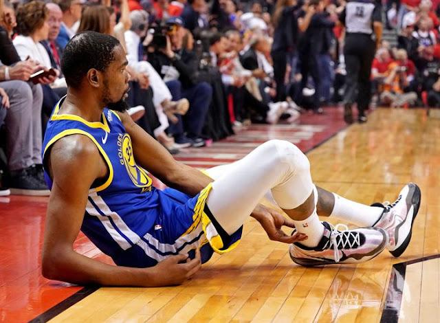 Simpati Kawhi Leonard untuk Kevin Durant