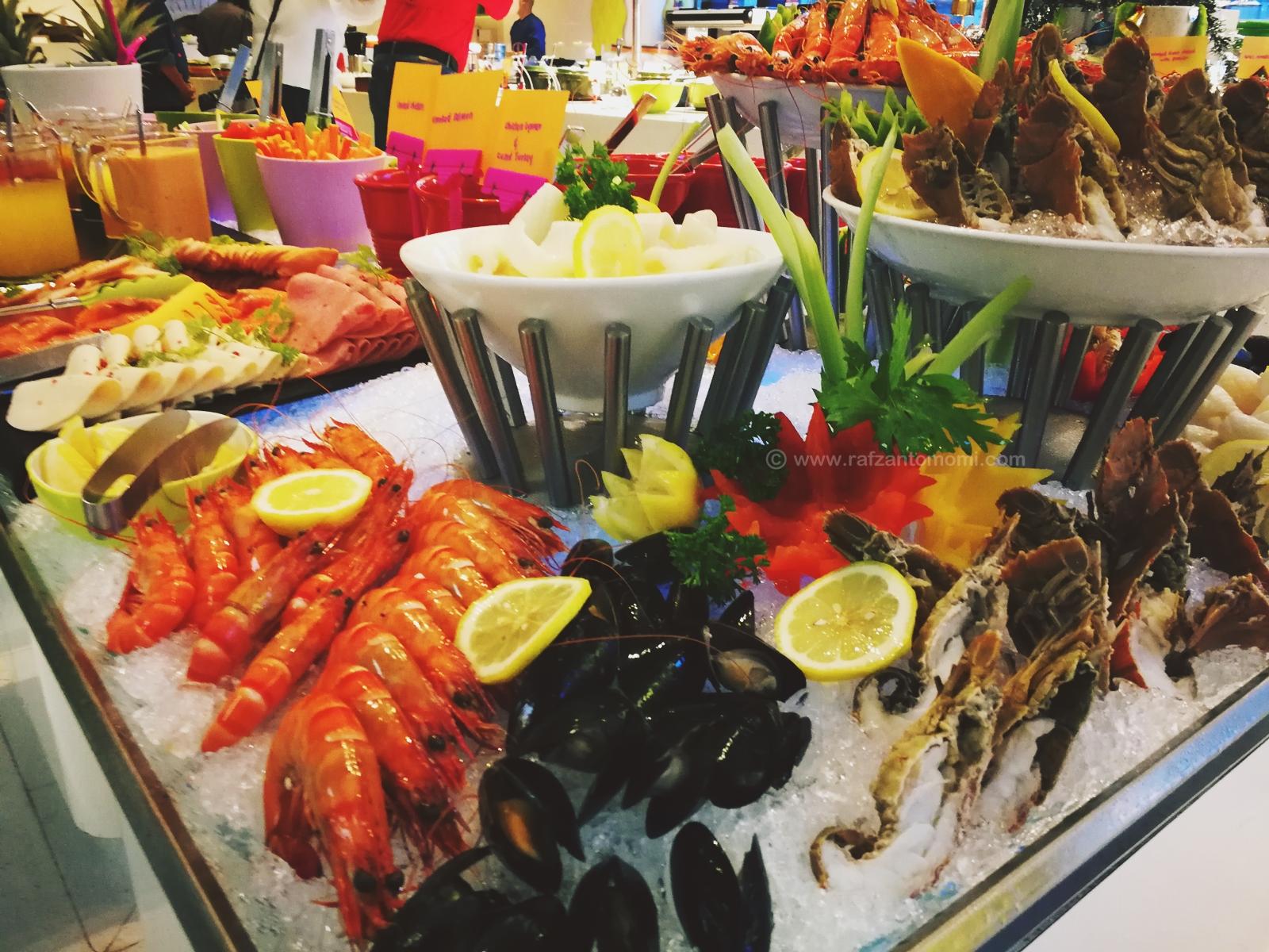 Hidangan Buffet Sempena Hari Krismas Di Nook, Aloft Kuala Lumpur Sentral