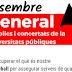 12D: vaga dels sectors públics i concertats de la Generalitat i universitats públiques