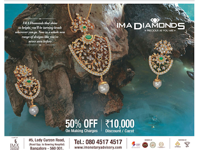 IMA DIAMONDS  50% offer