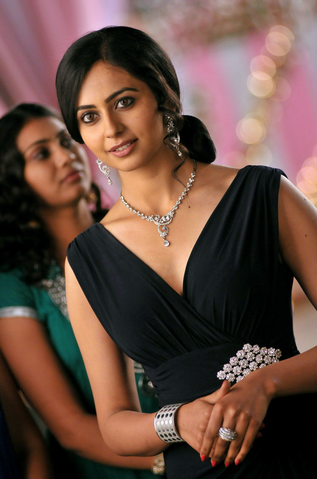 gorgeous exotic elegant Rakul preet singh photos from rough movie