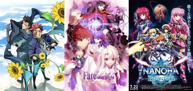 daftar anime movie terbaru 2018, yang tayang tahun 2018 2019