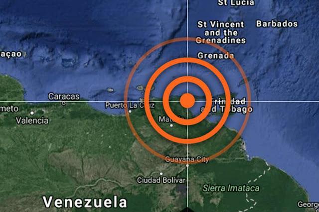 Sismo fuerte de 5 grados sacudió Ciudad Bolivar