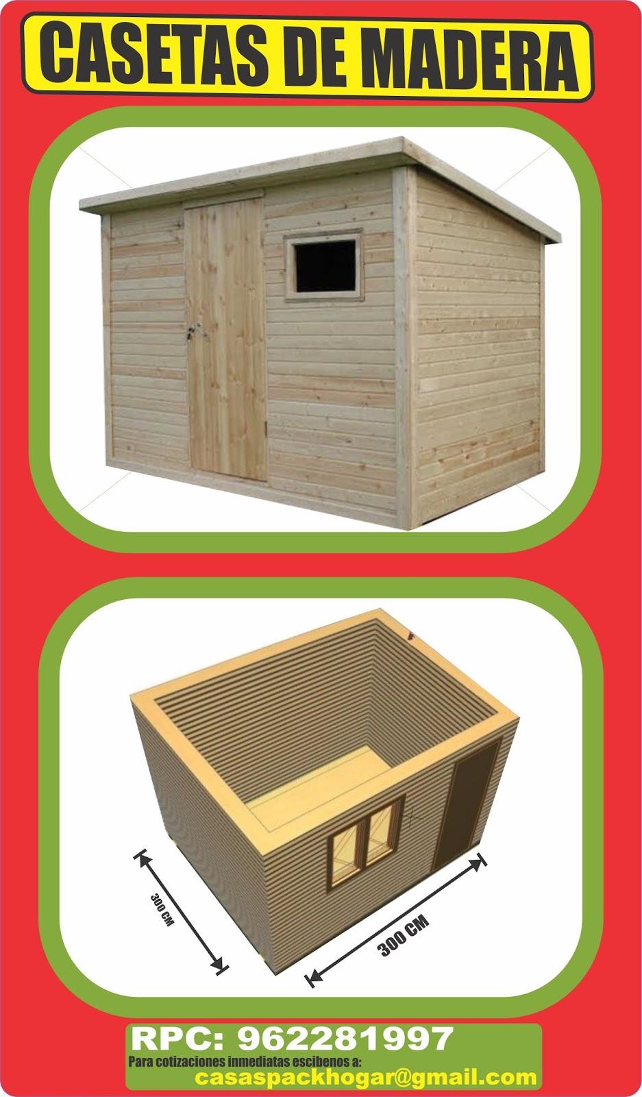 Casetas prefabricadas de madera - Madera machihembrada exterior ...