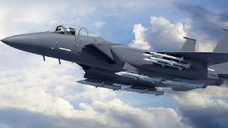 Jet Tempur F-15EX Buatan Boeing