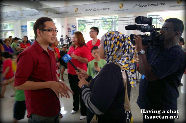 Isaactan.net in Bernama TV