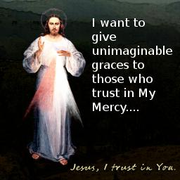 mensaje en ingles de jesus misericordia