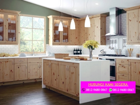 Pembuatan Kitchen Set Jati Belanda 0812 9480 0847 Buat