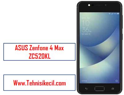 Cara Hard Reset/Factory Reset ASUS Zenfone 4 Max ZC520KL Dengan mudah