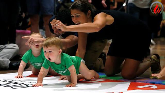 سباق الأطفال الرضع في نيويورك