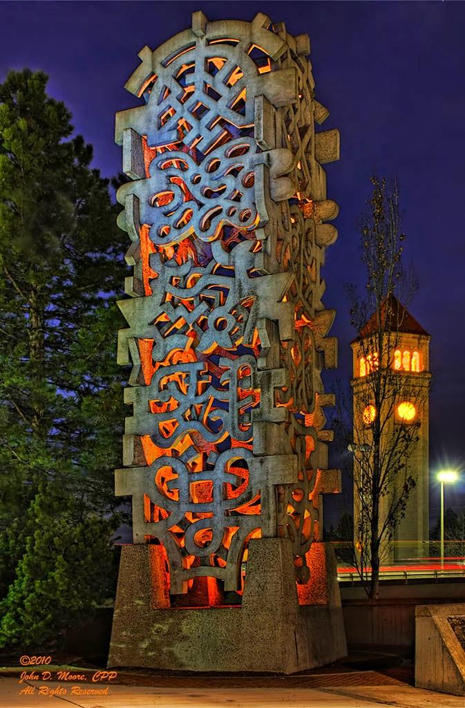 Spokane Riverfront Sculpture