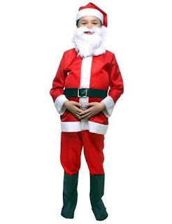 Fantasia Papai Noel para Crianças