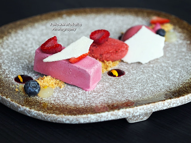 Planet Soleil (Min 3 Persons) Sharing Dessert Plated On Your Table By The Chefs RM 50 Per Person