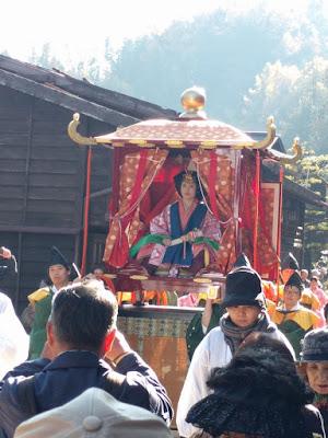 奈良井宿_皇女和宮御下向行列