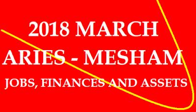 2018 March Mesha Rasi Phalalu