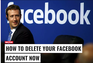 how can you permanently delete facebook