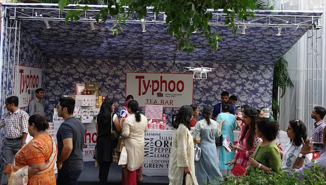 Typhoo Tea Bar at The India story